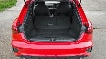 Audi A3 40 TFSI e PHEV - boot seats down