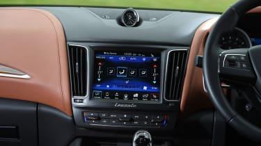 Maserati Levante used review - infotainment