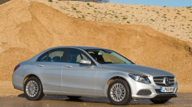 Used Mercedes C-Class Mk4 - front