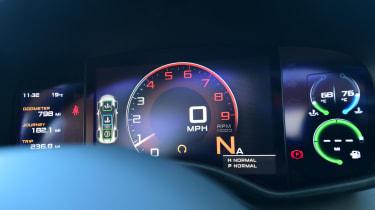 McLaren 570GT - dials