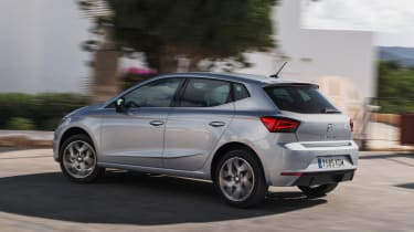 SEAT Ibiza diesel - side action