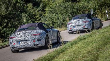 Mercedes SL 2021 - rear