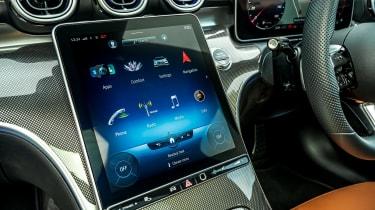 Mercedes C-Class - touchscreen