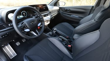 Hyundai i20 N - cabin