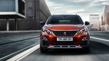 Peugeot 3008 - full front