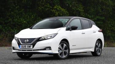 Nissan Leaf e+ - front static