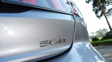Peugeot 508 Fastback - badge