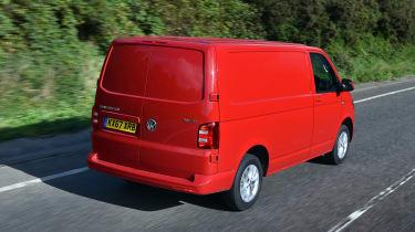 Volkswagen Transporter TSI petrol rear tracking