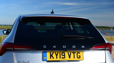 Skoda Scala - rear hatch
