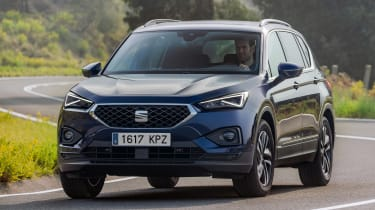 SEAT Tarraco - front cornering