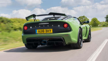 Lotus Exige Sport 410 - rear tracking