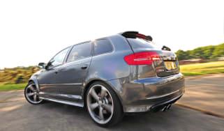 Audi RS3 clamp shot