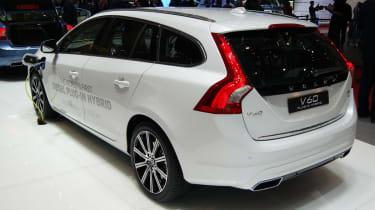 Volvo V60 plug-in hybrid rear