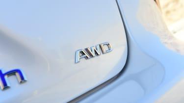 Lexus LS 500h 2018 review - AWD badge