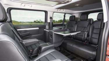 Vauxhall Vivaro Life 2019 back seats table