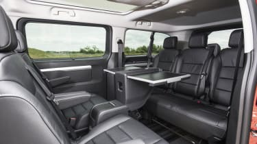 Vauxhall Vivaro Life 2019 back seats table
