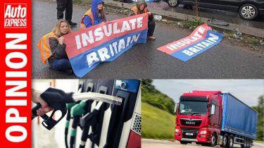 Opinion UK transport crisis
