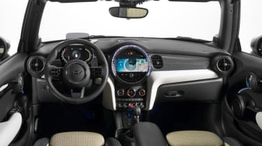 MINI Convertible facelift - dash