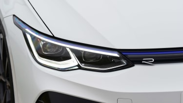 Volkswagen Golf R - front lights