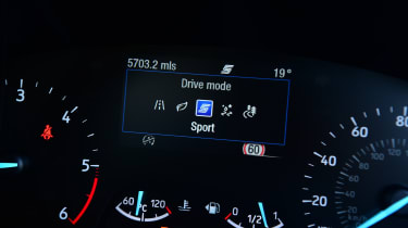 Ford Focus Active - dials