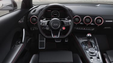 Audi TT RS Roadster - cabin