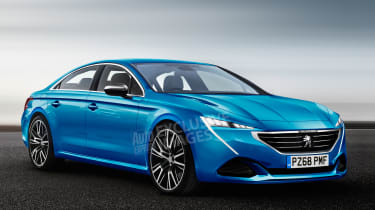 Peugeot 508 - front (watermarked)