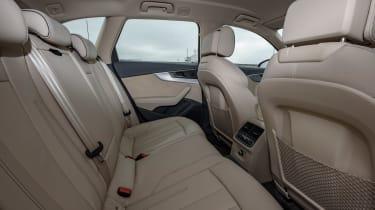 Audi A4 Allroad cabin rear