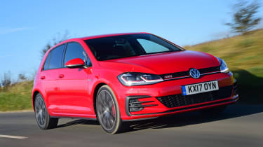 VW Golf GTI - front action
