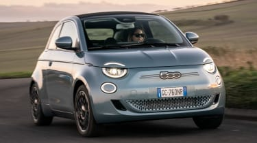 Fiat 500 - best small electric cars