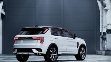 Lynk and Co SUV concept rear