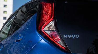 Toyota Aygo - taillight