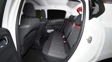 Citroen C3 long term test first report - rear seats
