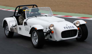 Caterham Seven SV 1.0 EcoBoost front tracking