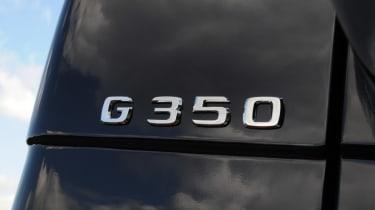 Mercedes G350 Bluetec badge