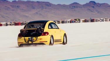 Volkswagen Beetle LSR - rear three quarter