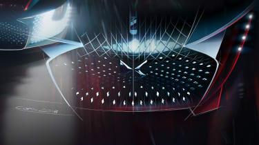 DS X E-Tense concept - grille