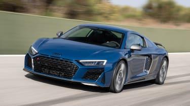 Audi R8 - front action