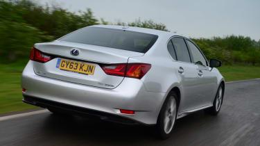 Lexus GS 300h Luxury rear