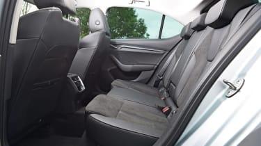 Skoda Octavia iV - rear seats