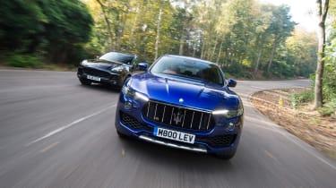 Maserati Levante vs Porsche Cayenne - head-to-head