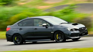 Subaru WRX STI - side
