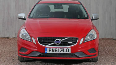 Used Volvo V60 - full front