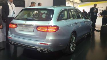 Mercedes E-Class Estate - rear reveal