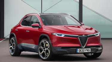 Alfa Romeo baby SUV - best new cars 2022 and beyond