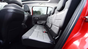 Citroen C5 Aircross - rear seats