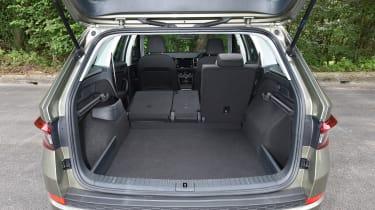 Mazda CX-5 vs Skoda Kodiaq vs VW Tiguan - Skoda Kodiaq boot