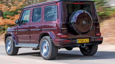 Mercedes-AMG G 63 - long term final report rear tracking