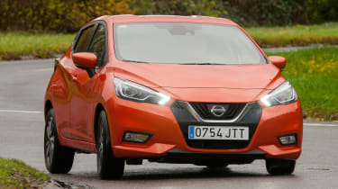 New Nissan Micra - front cornering