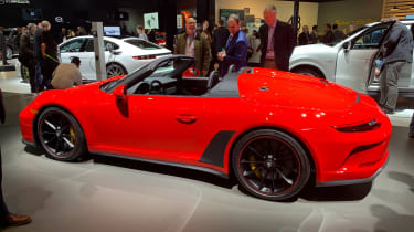 Porsche 911 Speedster - New York - side