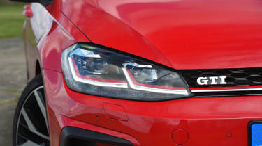 Volkswagen Golf GTI - front light detail